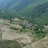vue aérienne de la vallée